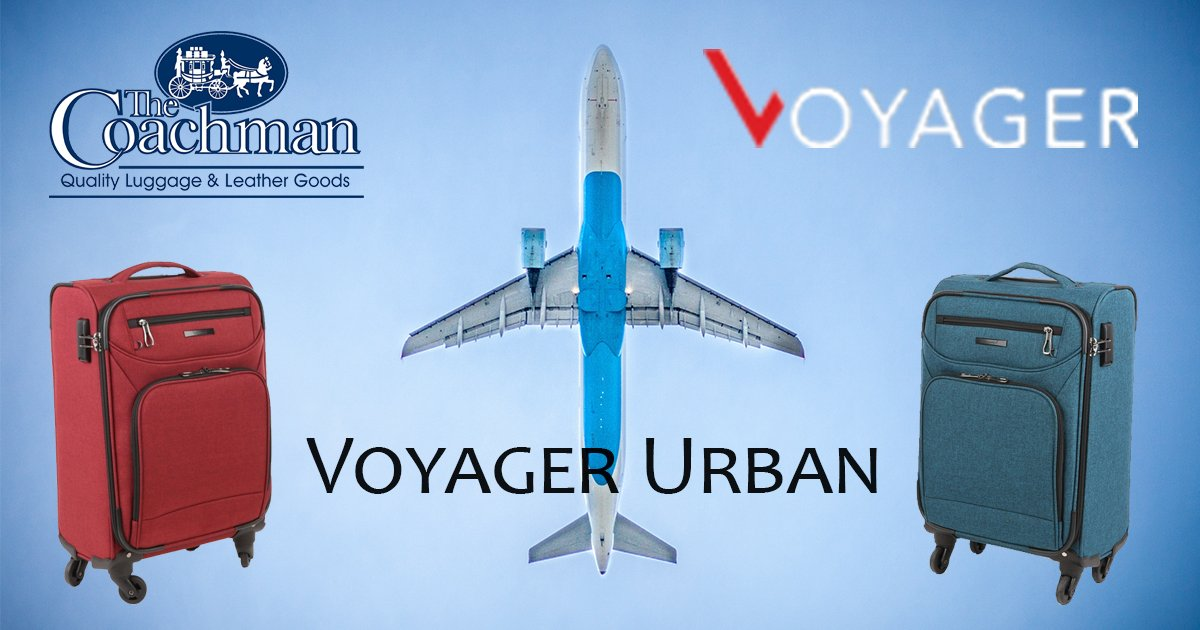 cb2bede53e61 Voyager has introduced two brand new colours in the Urban Range. You can  shop the new Urban available in a denim blue and lipstick red.  Travel   Luggage ...