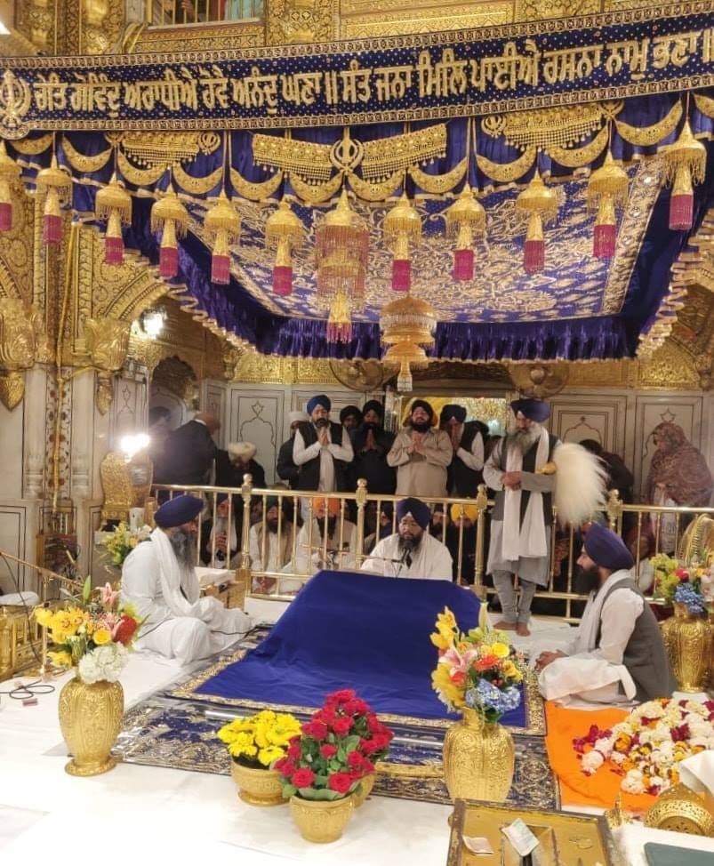 ਚੇਤ ਗੋਵਿੰਦ ਅਰਾਧੀਅੈ ਹੋਵੈ ਅਨੰਦੁ ਘਣਾ ॥  (In the month of Chayt, by meditating on the Lord of the Universe, a deep and profound joy rises.)  ਸੰਗਰਾੰਦ, ੧ ਚੇਤ, ਨਾਨਕਸ਼ਾਹੀ ੫੫੧  Happy New Year !! (Sikhi New Year, 14th March) <br>http://pic.twitter.com/8UpSspZbEj