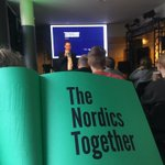 Image for the Tweet beginning: #risingnorth priority funded 40 pan-Nordic