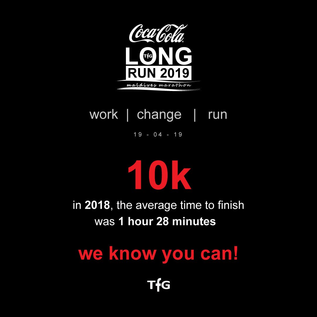 Average 10k Time >> Cocacolalongrun2018 Hashtag On Twitter