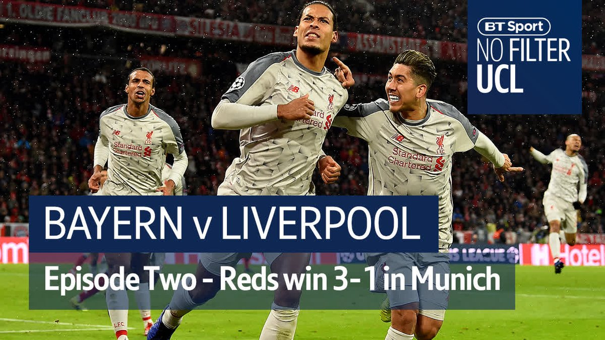 Liverpool turned up in Munich and saw off Bayern in their own back yard 🙌  Another famous European night for the Reds ❤️  #NoFilterUCL caught it all...