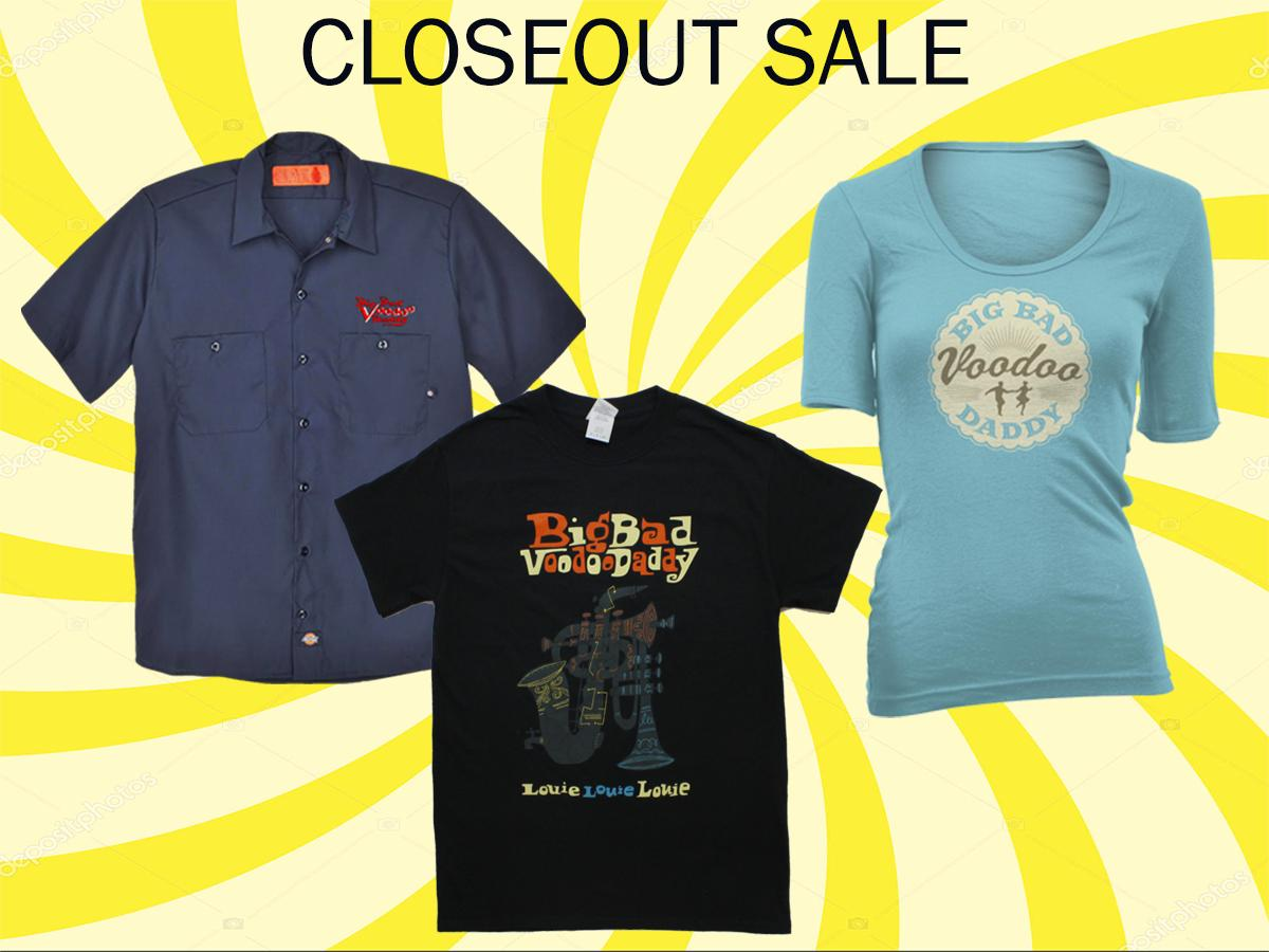 🎙 Inventory Closeout Sale!  🎙  Check out these closeout items on the Big Bad Voodoo Daddy web store!    Get them while supplies last!  👉 https://bit.ly/2TzhnMO  #bbvdtour2019 #swingmusic #25yearsofbbvd