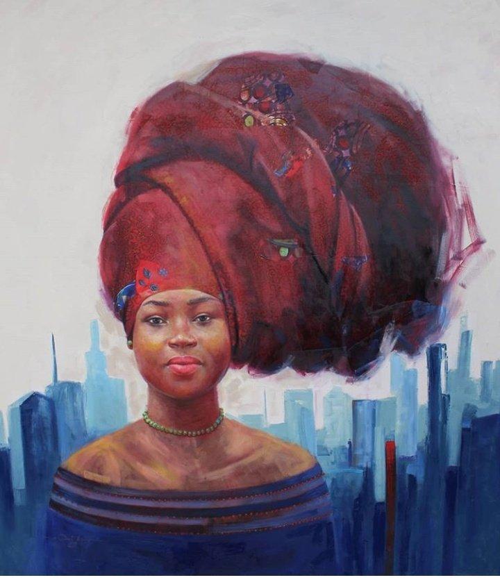 The Beautiful city #newyorkcity #WeAreNigerianCreatives #drawingwhileblack #UnitedAfricanCreatives #InternationalWomensDay <br>http://pic.twitter.com/MpLKegf7ha