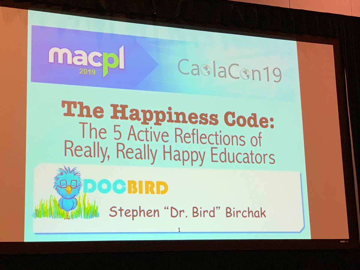RT <a target='_blank' href='http://twitter.com/H270'>@H270</a>: Great presentation on Happiness by Dr. Bird  <a target='_blank' href='http://twitter.com/JerkWhisperer'>@JerkWhisperer</a> You can break the code. <a target='_blank' href='http://search.twitter.com/search?q=macpl19'><a target='_blank' href='https://twitter.com/hashtag/macpl19?src=hash'>#macpl19</a></a> <a target='_blank' href='https://t.co/tgl6fCdwl1'>https://t.co/tgl6fCdwl1</a>