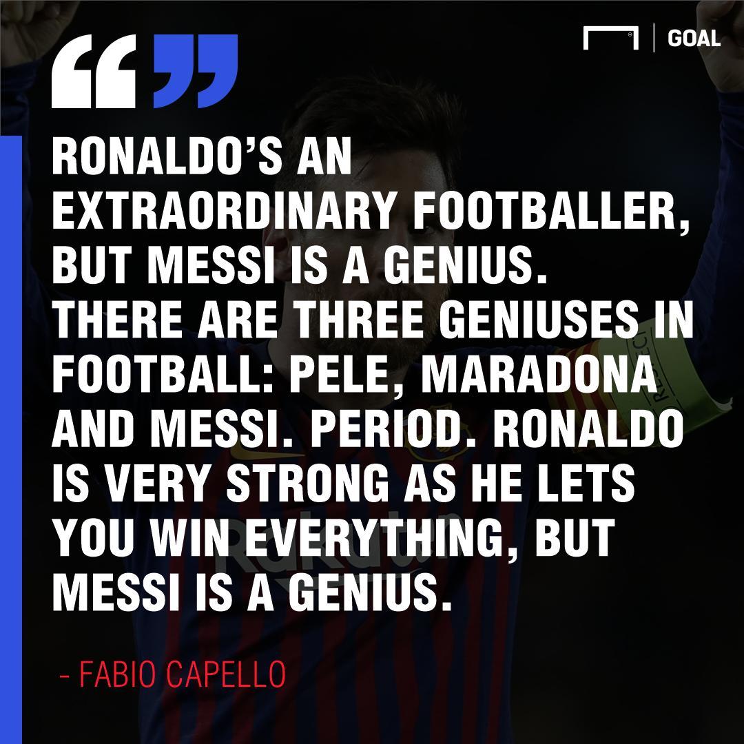 Goal's photo on Messi vs Ronaldo