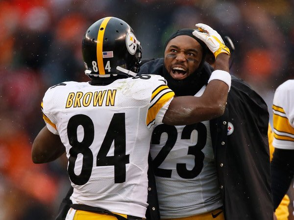"""""""I knew something was starting to bother him all the way back in training camp... But I didn't know it was going to lead to this.""""  - Mike Mitchell on visiting Antonio Brown last year because he needed a friend"""