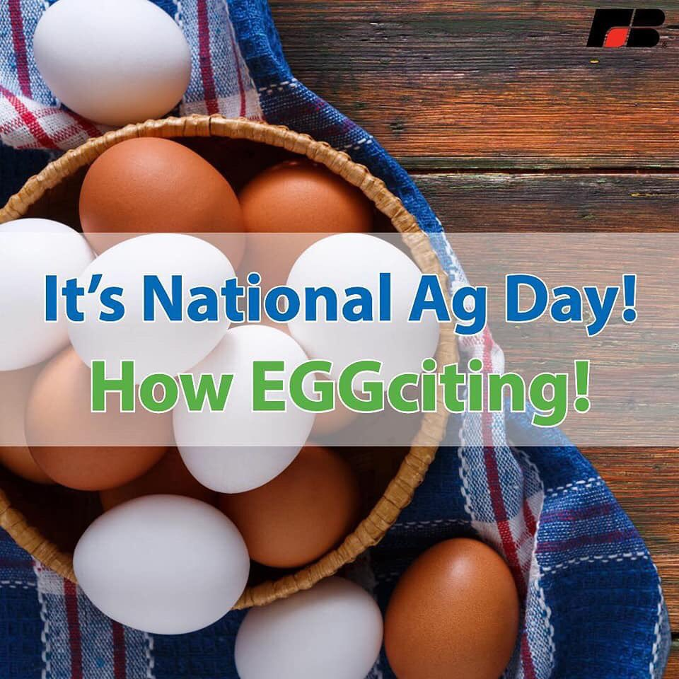 It's time to celebrate America's farmers and ranchers! Happy #NationalAgDay! #FBDoesAgDay #AgDay19<br>http://pic.twitter.com/6SrFoijJYR