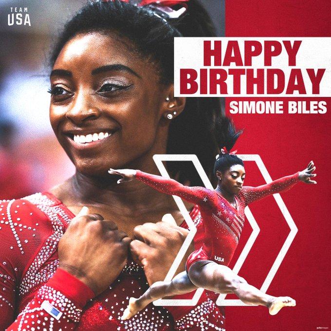Happy birthday to 4x Olympic medalist,