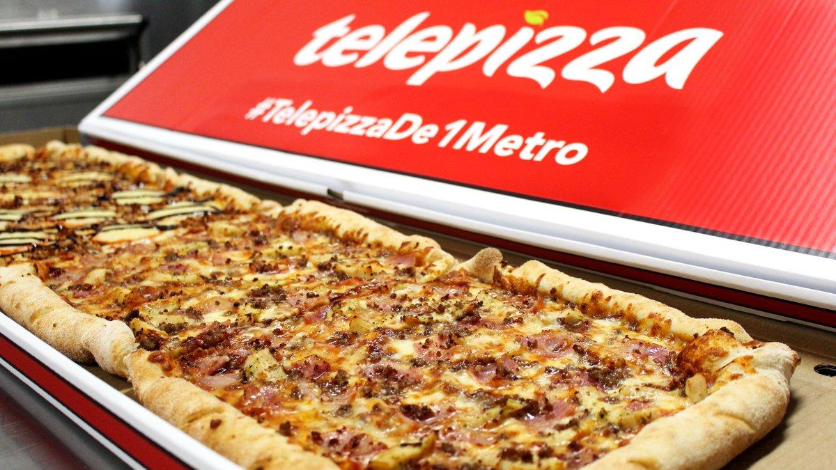 Telepizza España🍕's photo on #telepizzade1metro