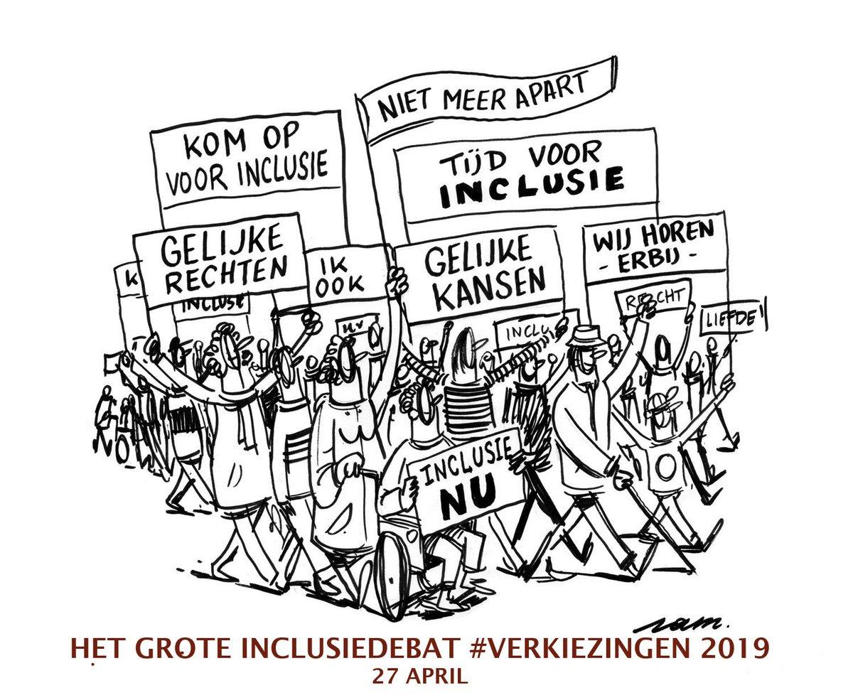Wil je weten hoe @cdenv @groen @de_NVA @openvld @PvdA @sp_a #mensenrechten #inclusie #handicap écht op de rails gaan zetten na #verkiezingen2019 ? Kom naar het grote #inclusiedebat van @GRIPvzw 27/4/2019 @flandersexpo. Info, inschrijven, gratis inkom via https://www.gripvzw.be/nl/artikel/304/het-grote-inclusiedebat-verkiezingen-2019…