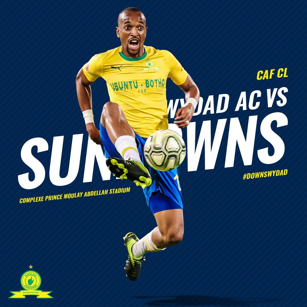The grind doesn't stop!👆 ➖ ⚽ Wydad AC vs Mamelodi Sundowns 📆 16 March ⏰ 18:00  🏟  Complexe Prince Moulay Abdellah Stadium 🏆 CAF Champions League 📲 #Sundowns #CAFCL