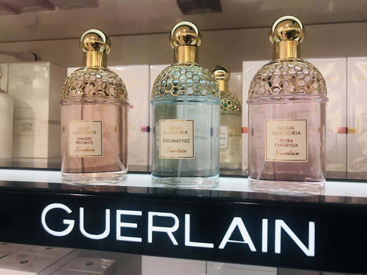 New Guerlain Aqua Allegoria Collection Of Fragrances Are Now In