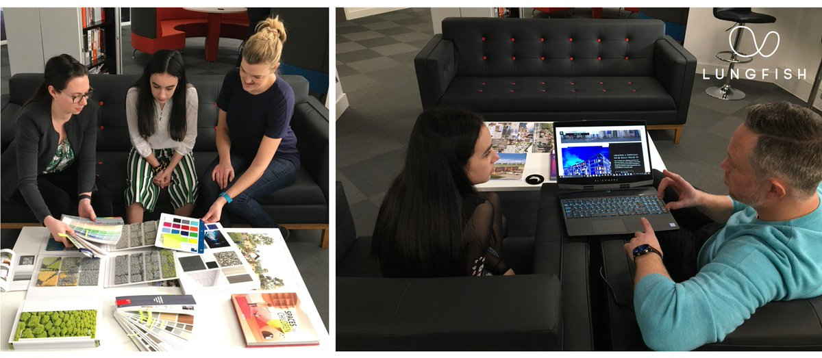 We loved having Mia with us for a week of #WorkExperience recently with @LFarchitects. From learning about #architecture to trying her hand at #InteriorDesign, she was given a real insight into what the industry can offer: http://bit.ly/2GZJDBA  #TeamScape #TeamLungfish