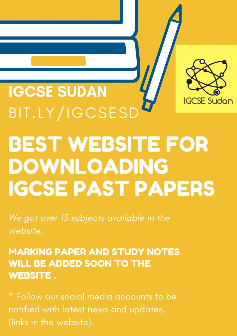 IGCSE SUDAN - @IgcseSudan Download Twitter MP4 Videos and Browse