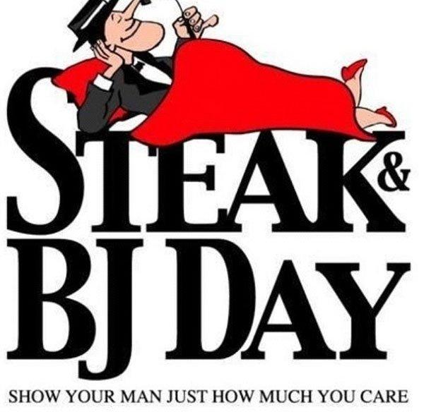 Happy #SteakAndBjDay ! <br>http://pic.twitter.com/o6c8SGfLJB