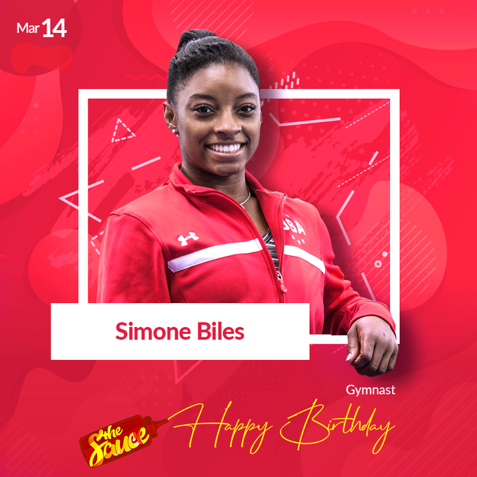 Gymnast turns 22. Happy birthday to this record breaking black queen!