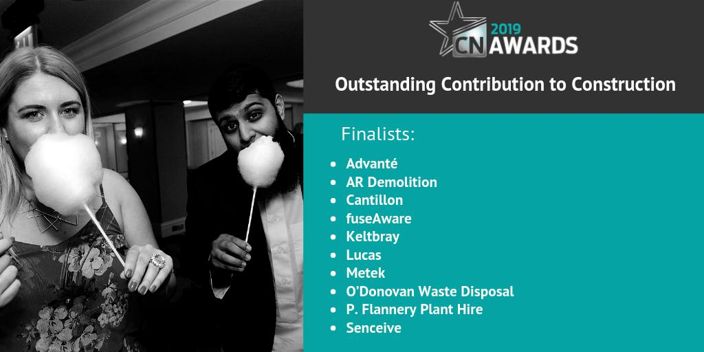 We can't wait for the 2019 #CNAwards! Here are the finalists for Outstanding Contribution to Construction! Check out the full list here http://bit.ly/2019CNshortlist