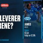 Som de to dyreste spissene i #ESFantasy settes det store forventninger til James og Bendtner! Leverer noen av dem varene når @Molde_FK møter @RBKfotball til Mesterfinalen på søndag? 🤔