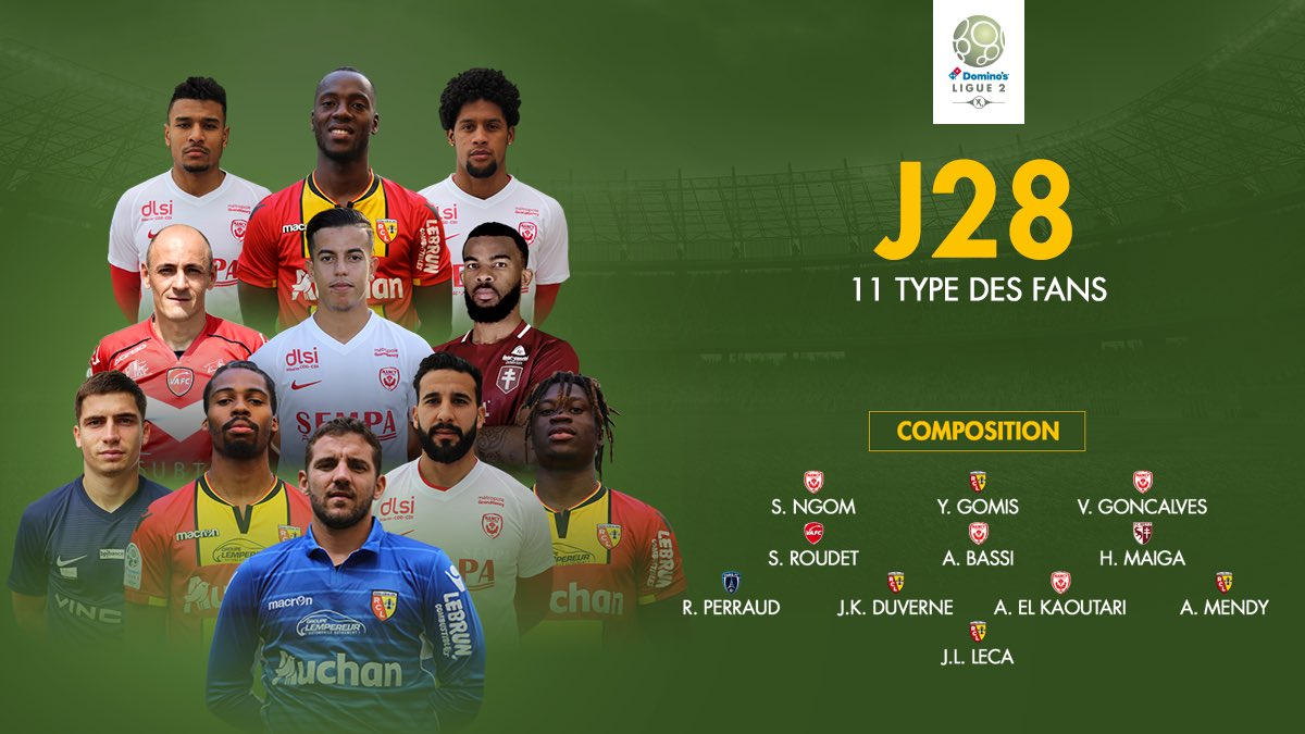 Domino's Ligue 2's photo on Le Romain