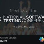 Image for the Tweet beginning: We are sponsoring @testmagazine #NationalTestConf
