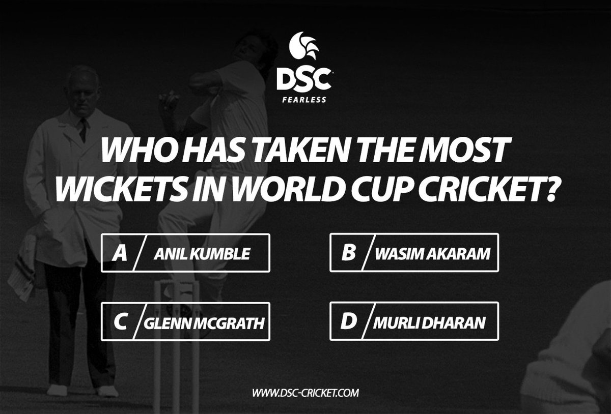 DSC CRICKET's photo on #Questiontime