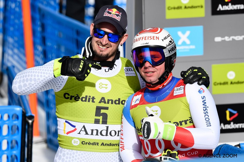 The two downhill protagonists deliver in Soldeu http://dlvr.it/R0phQH