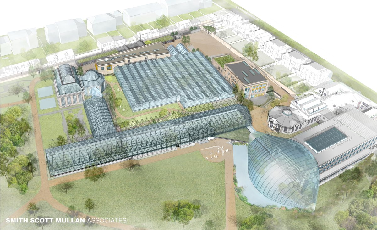Planning lodged for @TheBotanics Edinburgh Biomes. 7 new buildings and 3 refurbishments across 2 sites to safeguard the internationally important plant collection, reduce energy use, enhance the visitor experience and conserve historic buildings https://www.smith-scott-mullan.co.uk/?p=3634