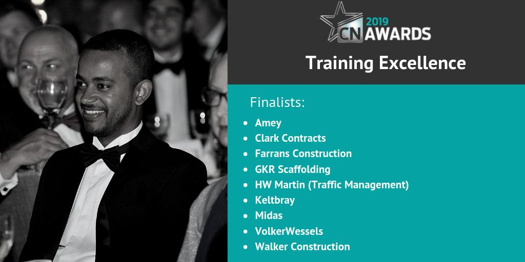 Lastly, here are the finalists for the Training Excellence award at the 2019 #CNAwards! Congratulations to the following companies! See the full shortlist here http://bit.ly/2019CNshortlist