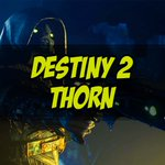 Image for the Tweet beginning: Thorn -
