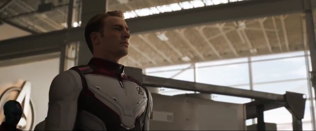 Capitão América Uniforme Quântico - Vingadores: Ultimato