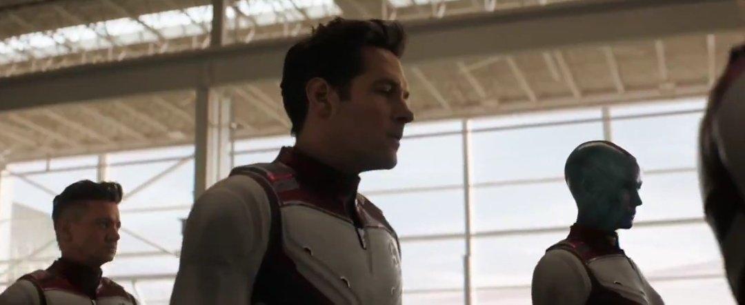 Homem-Formiga, Nebula e Gavião Arqueiro Uniformes Quânticos - Vingadores: Ultimato