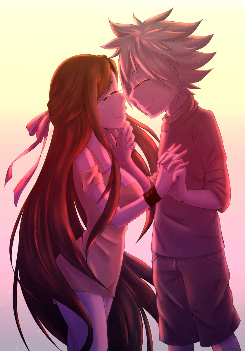 Daisuke: Happy valentines day Sarah-chan. Sarah: *Sob* Idiot, do you know how long i been waiting to see you again. #XPPENUSA #ValentineDay<br>http://pic.twitter.com/2e84tYi80d