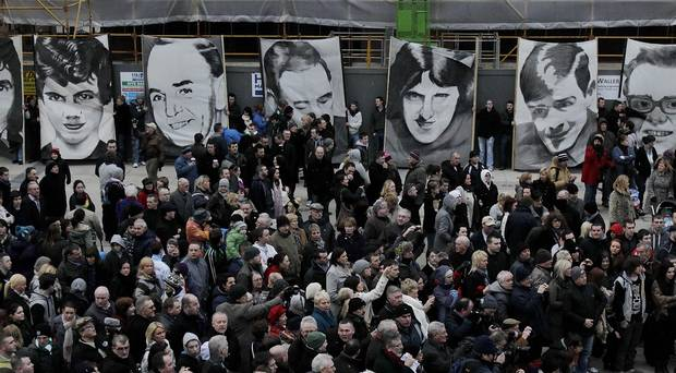 Profoundly moving to see the dignity & courage of the #BloodySunday families despite being dealt yet another blow. Their quiet strength & determination should serve as inspiration to those seeking justice around the world.Conversely the comments of the British MOD are disgraceful