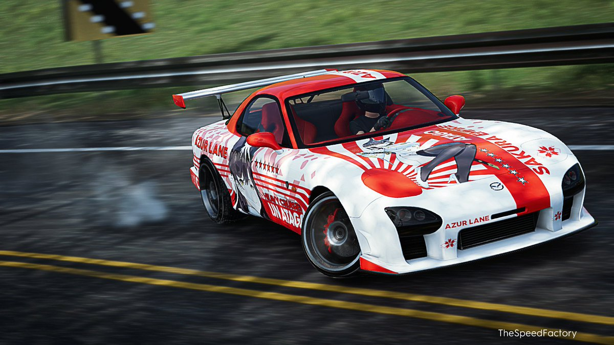 The Crew 2 Atago RX-7 drifting in the morning 4/4 #thecrew2