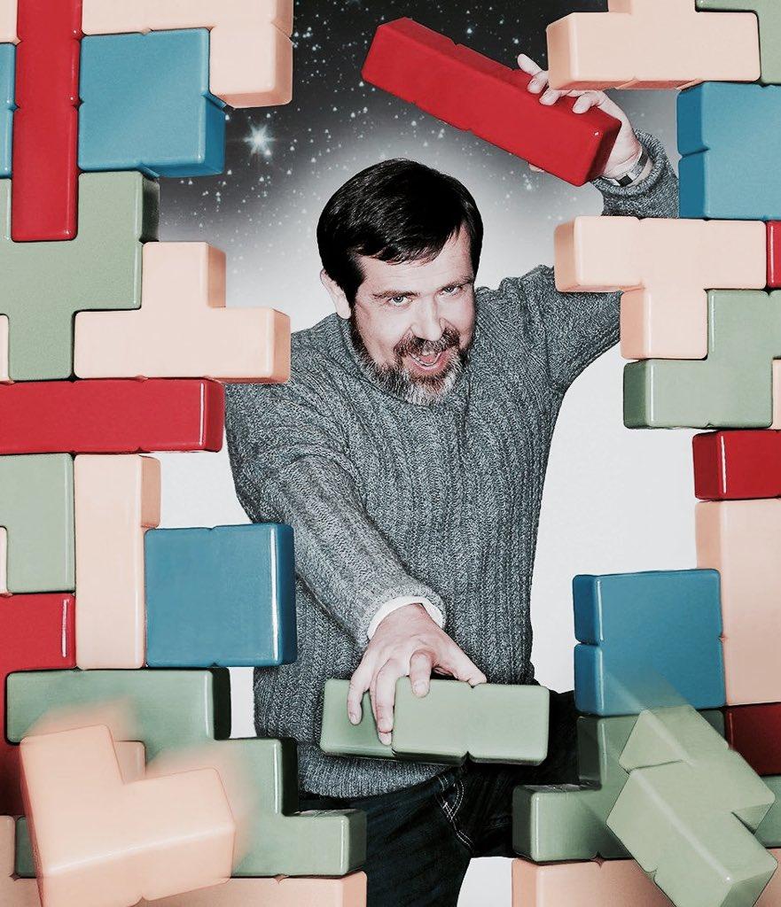 Alekséi Pázhitnov, creador del Tetris