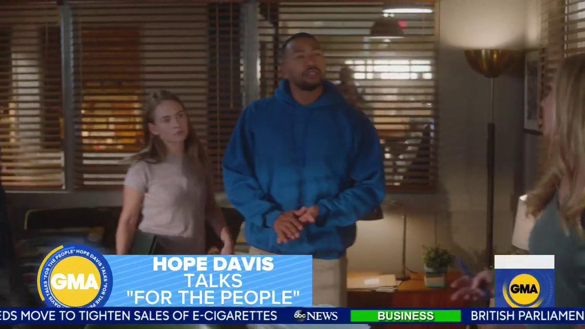 Good Morning America's photo on #ForThePeopleABC