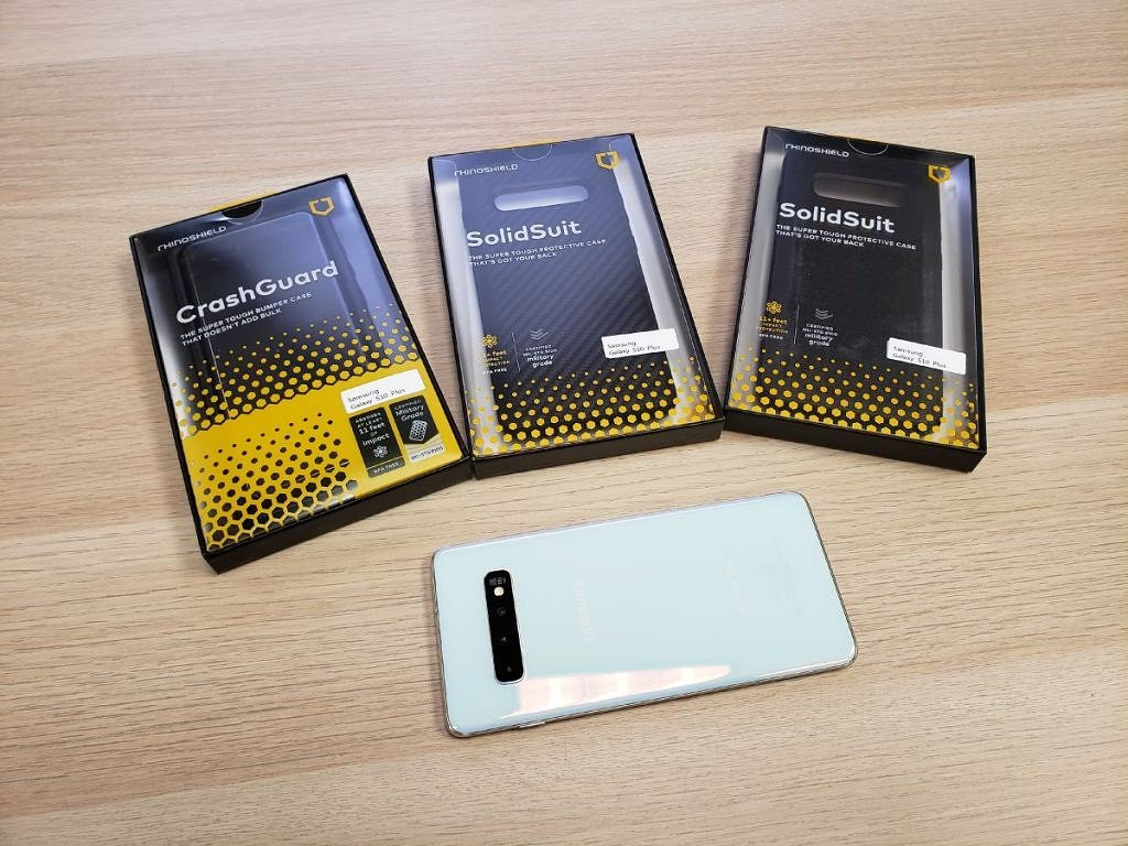 Xda Developers On Twitter Hands On With Rhinoshield Crashguard And Solidsuit Cases For Samsung Galaxy S10 And S10 Https T Co Ynrim5kmxh Ad