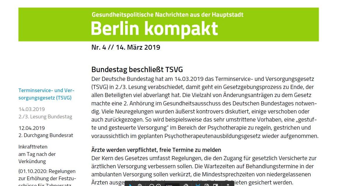 BARMER Presse's photo on #TSVG