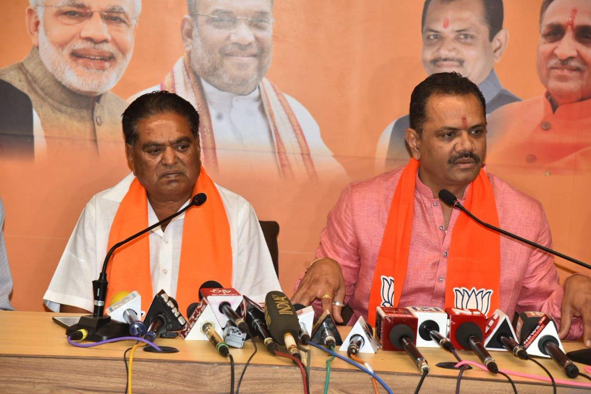 Former Lathi MLA rejoins BJP
