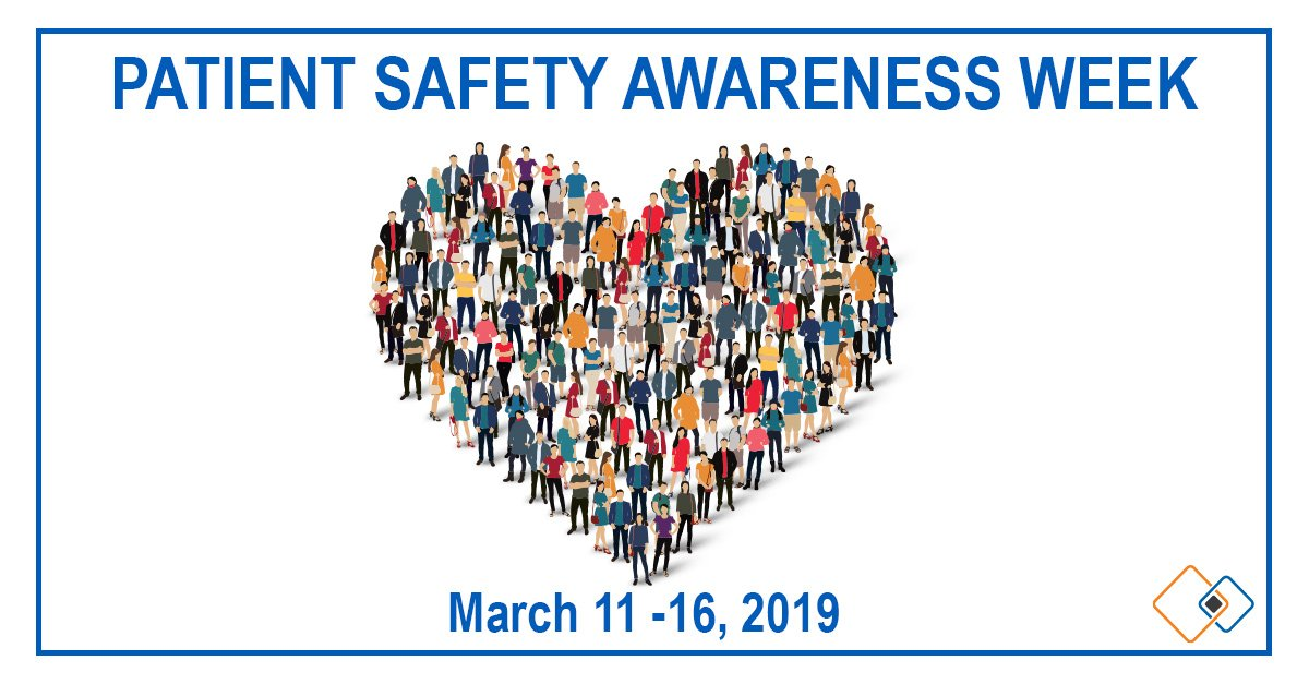 Patient Safety Awareness Week is an annual recognition to encourage everyone to learn more about healthcare and safety. Join us in making a commitment to do so year round! #PatientSafetyAwarenessWeek #PSAW19 #PatientSafety @TheIHI