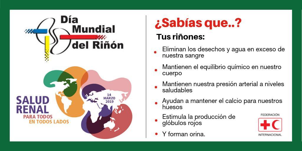 IFRC Americas's photo on #DíaMundialDelRiñón