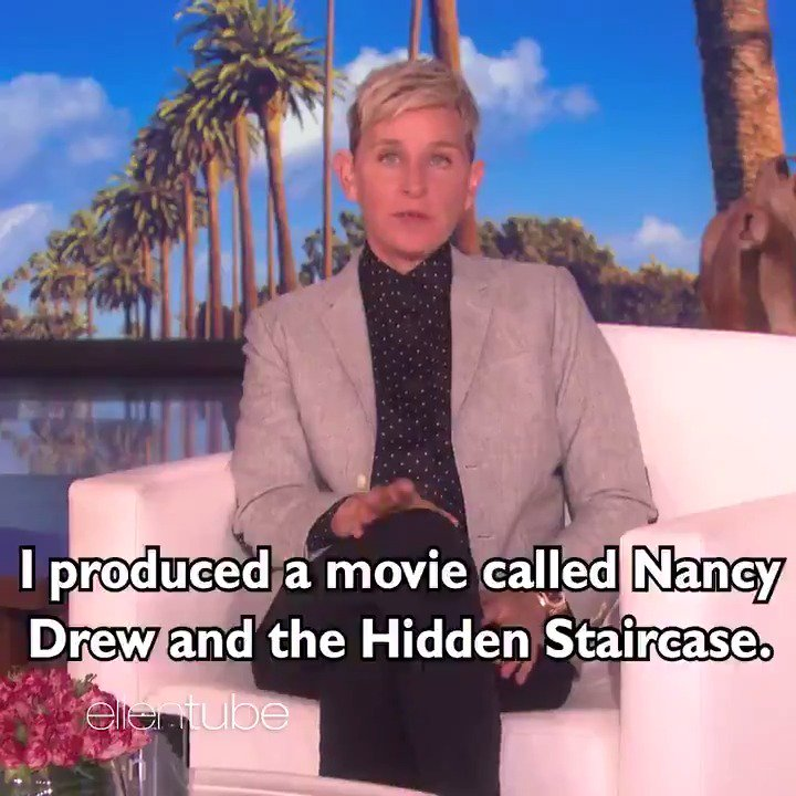 My new movie, #NancyDrew and the Hidden Staircase, is in theaters tomorrow! Even my Alexa is excited. https://t.co/W7UUnQ19rc