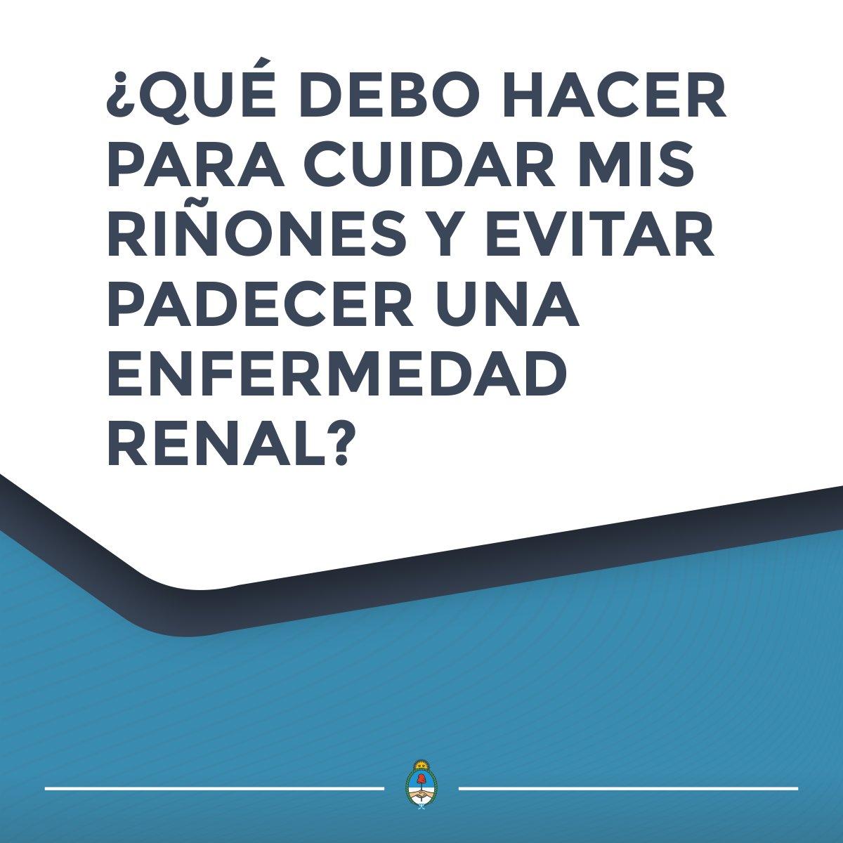 Secretaría de Gobierno de Salud de la Nación's photo on #DíaMundialDelRiñón