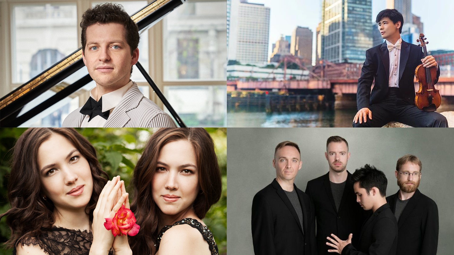 Congrats to 2019 Avery Fisher Career Grant winners @HenryThePianist, Angelo Xiang Yu, @NaughtonPiano & @jackquartet! Tune in to the ceremony tonight at 6pm live from @TheGreeneSpace, hosted by @WQXR's @ElliottForrest & ft. performances by the honorees! >> bit.ly/2Kakwhp