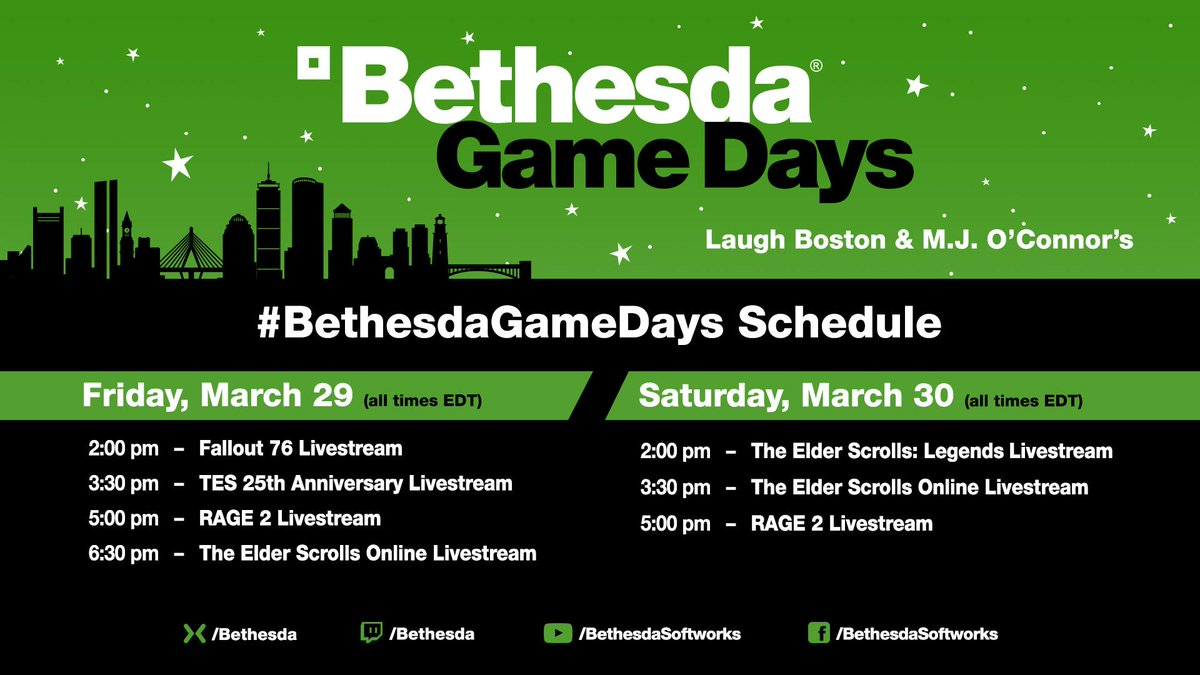 Bethesda on Twitter: