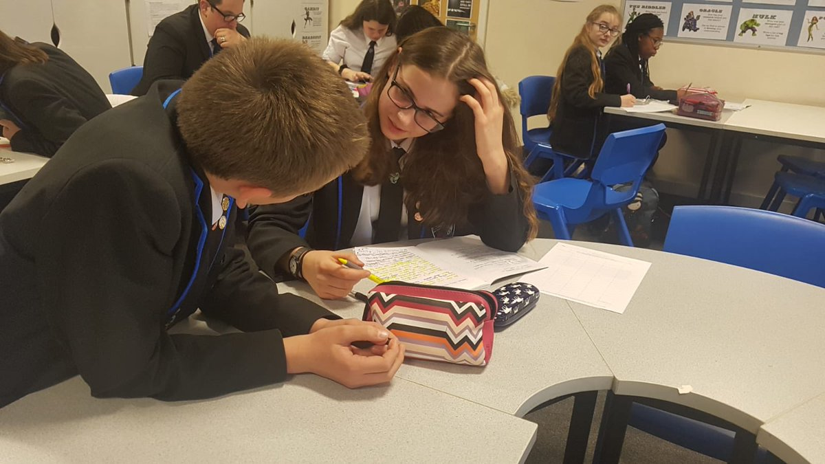 KS3 Young Writers' have been working on their Mission Catastrophe entries today! #YoungWriters
