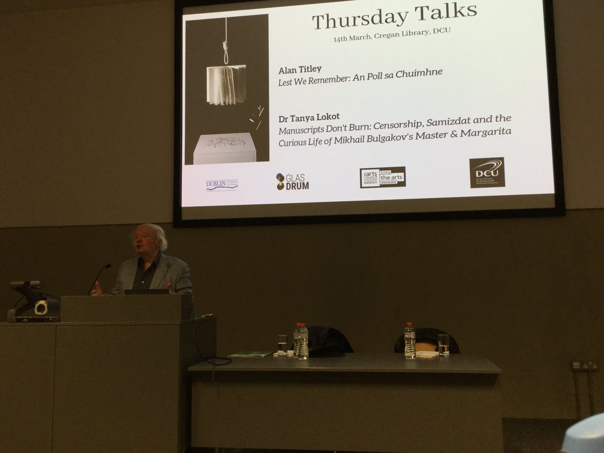 Alan Titley starts proceedings at tonight's #AllAboutBooks Thursday Talk in #CreganLibrary - how much of what we read do we actually remember?
