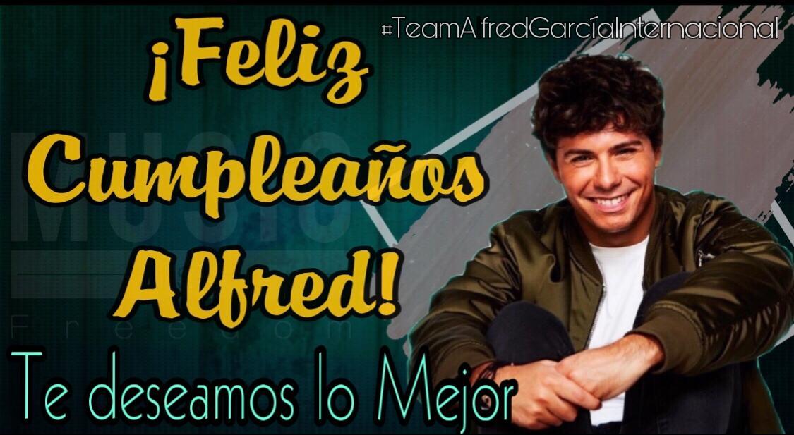 Team Alfred García Internacional's photo on #Felices22Alfred
