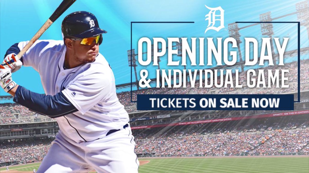 You ready for #OpeningDayDET?  🎟: http://tigers.com/tickets