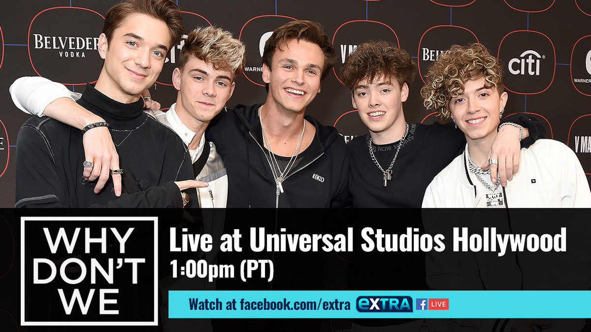 ExtraTV's photo on Facebook Live